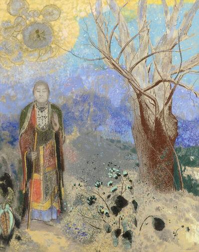 Odilon Redon, 'Le Bouddha (Buddha)', ca. 1905