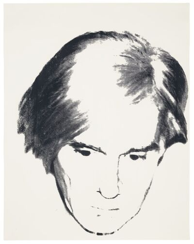 Andy Warhol, 'Self -Portrait unique', ca. 1977