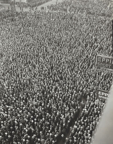 Arthur Siegel, 'Right of Assembly, Cadillac Square, Detroit, Michigan', 1939