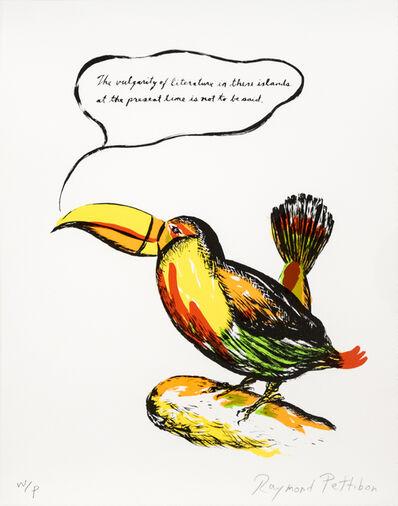 Raymond Pettibon, 'Untitled (Toucan)', 2018