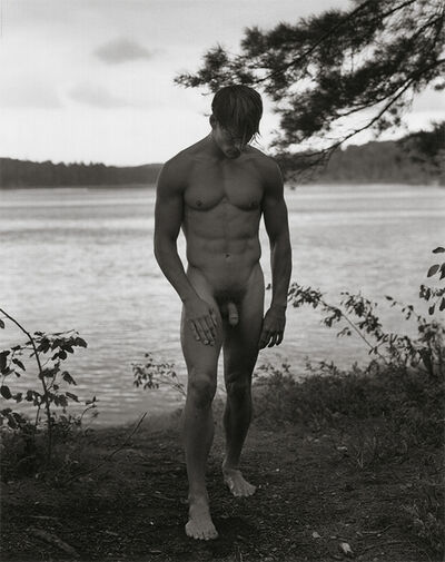 Bruce Weber, 'Paul Wadina, Pete's Rock Campground, Adirondack Park', 1988