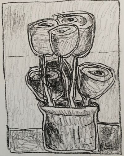 Enrico Riley, 'Untitled: Flowers', 2018