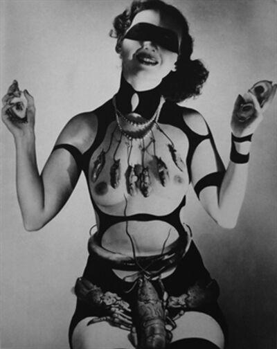 """Horst P. Horst, 'Costume Design by Salvador Dali for """"Dream of Venus""""', 1939"""