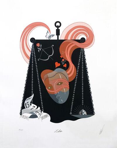Erté (Romain de Tirtoff), 'LIBRA', 1982