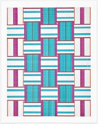 Carly Glovinski, 'Leisure Weave 4', 2017