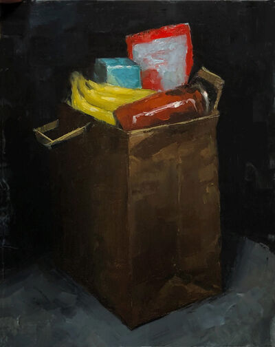Tom Giesler, 'Health Study 23: quarantine groceries', 2020