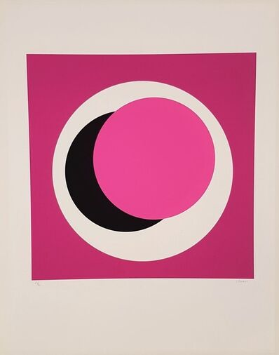Geneviève Claisse, ' Light Pink Circle (Cercle rose pale)', 2015