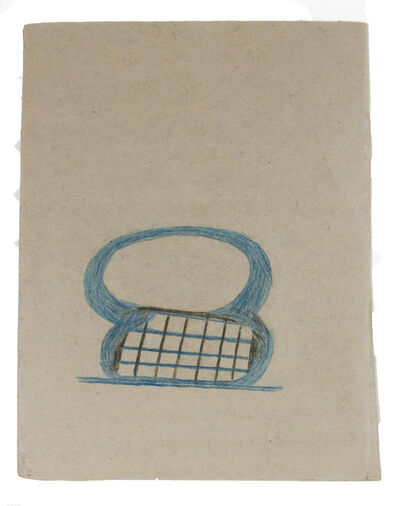 Bill Traylor, 'Figure 8 Basket', 1939