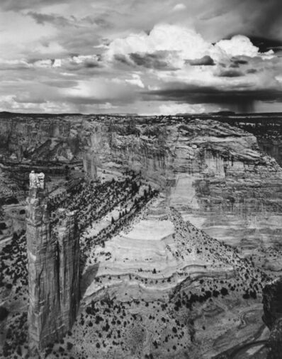 Jody Forster, 'Spider Rock and Thunderstorm, Canyon de Chelly, Arizona', 1979