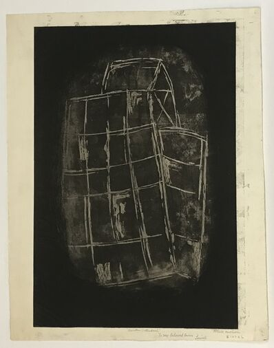 Louise Nevelson, 'Sunken Cathedral (only avail. with portfolio of 23)', 1965-66