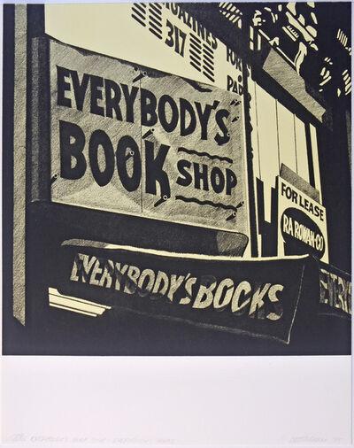 Robert Cottingham, 'Everybody's Bookshop', 1975