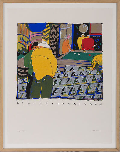 Manel Anoro, 'Billar Cala Cafe ', 2000