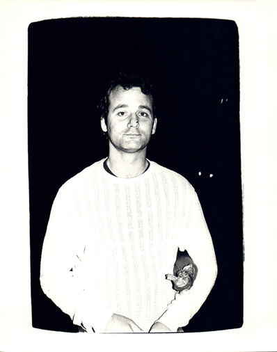 Andy Warhol, 'Andy Warhol, Photograph of Bill Murray circa 1981', ca. 1981