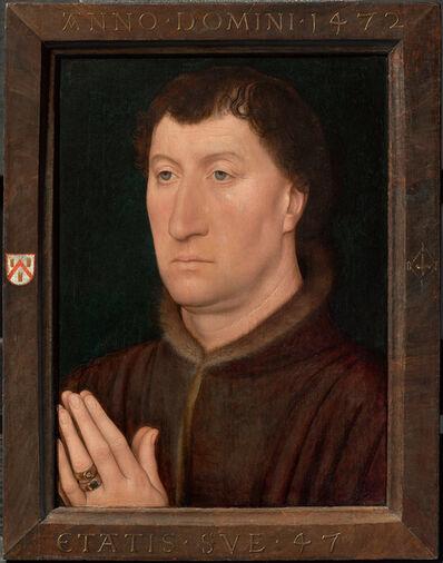 Hans Memling, 'The Canon Gilles Joye', 1472