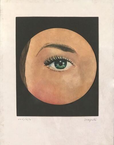 René Magritte, 'L'Oeil', 1968