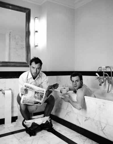 Lorenzo Agius, 'Jude and Ewans in bath', 2003