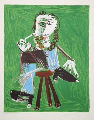 Pablo Picasso, 'Homme a la Pipe Assise sur un Tabouret, 1969', 1979-1982