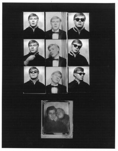 Gerard Malanga, 'Andy Warhol photobooth assemblage', 1964