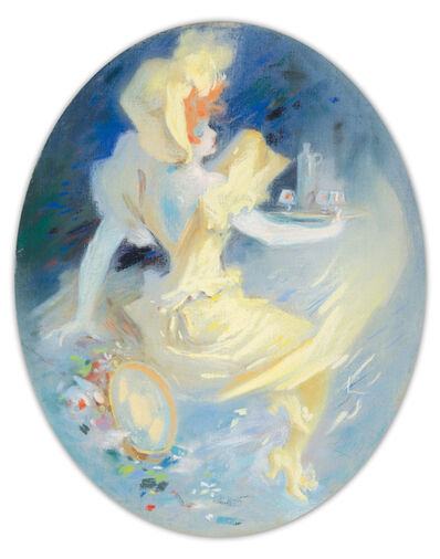 Jules Chéret, 'Punch Grassot : Pastel Maquette', ca. 1896