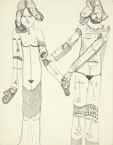 Huguette Caland, 'Untitled', 1971