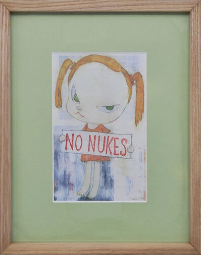 Yoshitomo Nara, 'No Nukes (Framed Official Print)', 2010-2020
