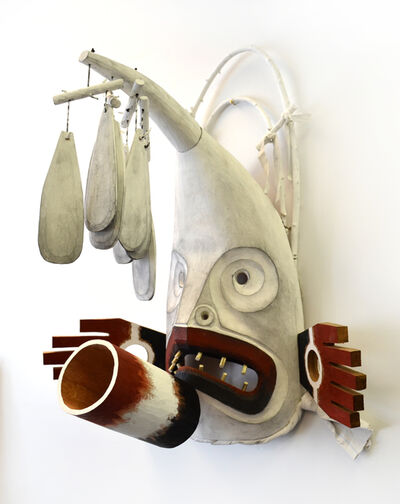 Beau Dick, 'Inuit Weather Mask'