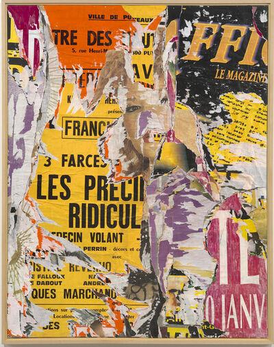 Jacques Villeglé, 'Puteaux', novembre 1989