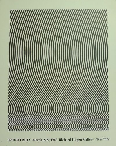 Bridget Riley, 'Untitled(Richard Feigen Gallery)', 1965