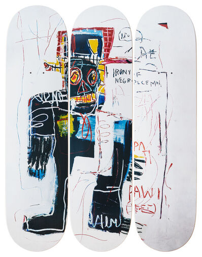 Jean-Michel Basquiat, 'Irony of a Negro Policeman', 2019
