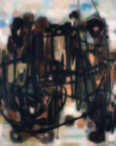 Chu Teh-Chun, 'Composition No.25-Automne', 1959