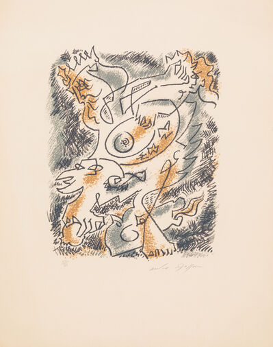 André Masson, 'Untitled', 1960