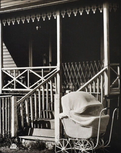 Ralph Steiner, 'Baby Carriage in Provincetown', 1924