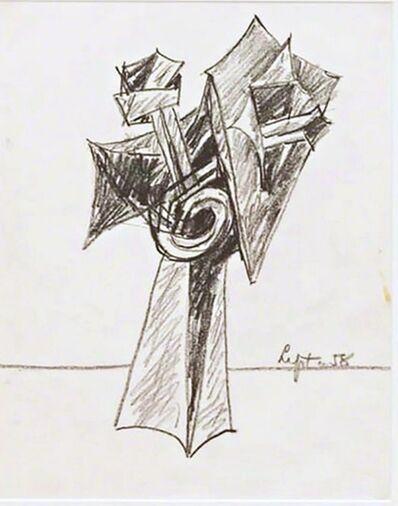 Seymour Lipton, 'Untitled Sculptural Study', 1958