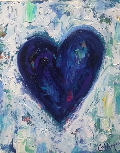 Tim Collom, 'Blue Heart', 2019
