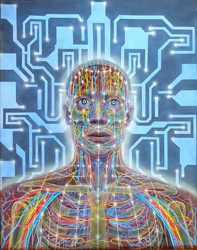 Alex Grey, 'Networks', 1985