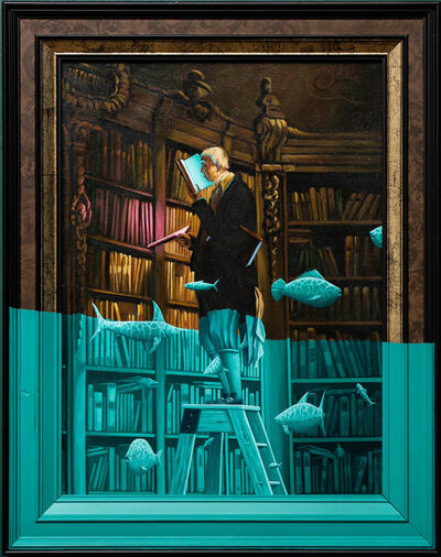 André Schulze, 'The bookworm', 2020