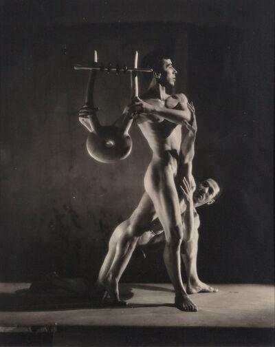 George Platt Lynes, 'Group of seven vintage gelatin silver prints from the 1948 Balanchine Orpheus'