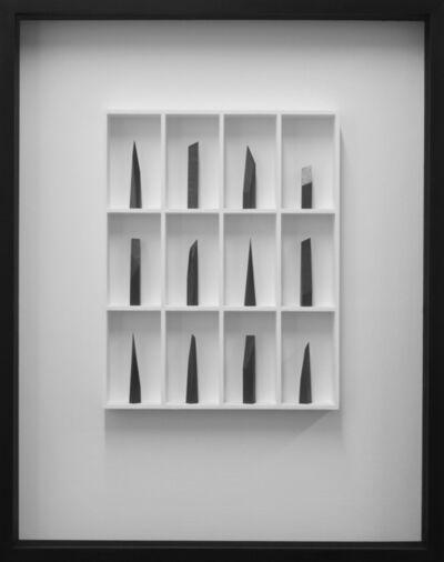 Paul Fry, '12 pieces - the edge of silence', 2018