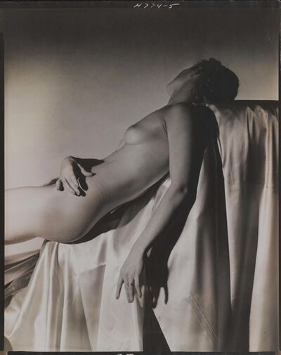 Horst P. Horst, 'Lisa on Silk, New York', 1940
