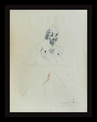Salvador Dalí, 'Aurelia Le Colosse', 1972