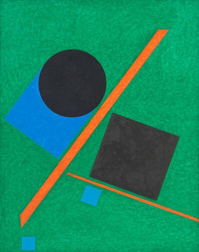 Stephen Antonakos, 'Untitled Drawing N#1', 1988