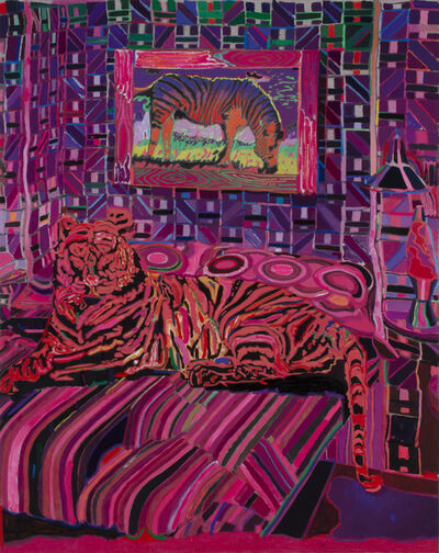 Leon Benn, 'Tiger in the Bedroom', 2019