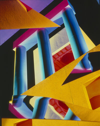 Barbara Kasten, 'Architectural Site 8, Loyola Law School, Los Angeles, CA, December 21', 1986