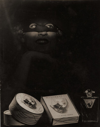 "Laure Albin-Guillot, 'Advertising Shot for the Perfume ""Masquerade"" by L. T. Piver', 1938/1938"