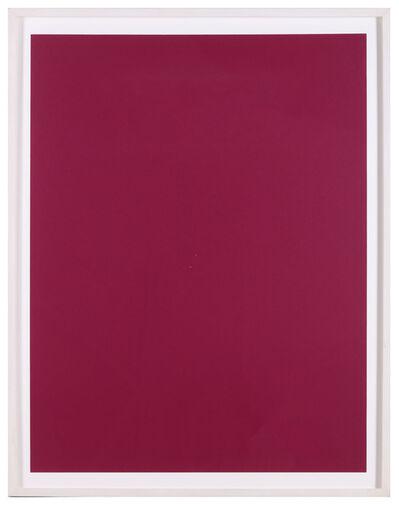 Sam Falls, 'Untitled (Purple Roll)', 2011