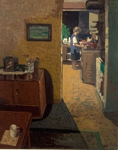 James Lee, 'Artist's Mother, Interior at Night', Contemporary