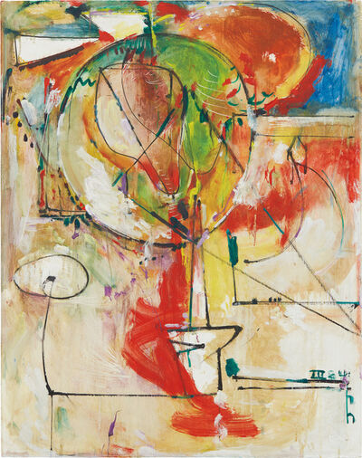 Hans Hofmann, 'The Secret Source', 1941