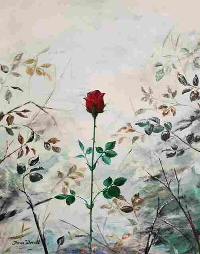 Jana Wendt, 'Rose in the Snow', 2021