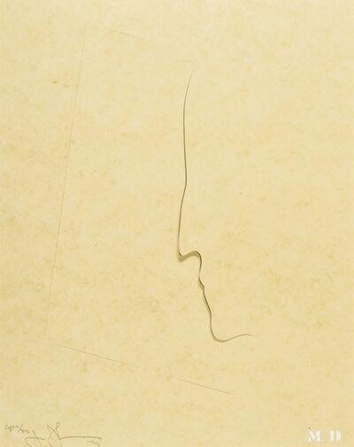 Jasper Johns, 'M.D.', 1974