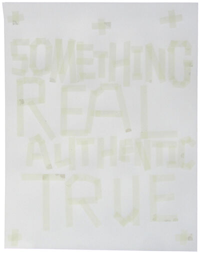 Todd Norsten, 'Something Real, Authentic, True', 2011